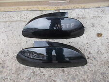 MG MGTF MK2 MODELS 2002 - 2005 GLOSS BLACK EFFECT FINISH SET OF REAR LIGHTS