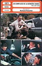 LES COMPLICES DE LA DERNIERE CHANCE - Fleischer(Fiche Cinéma)1971 - The Last Run