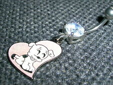 Nouvelle vente Betty Boop licencié charme fin FLIRT belly bar ring banane