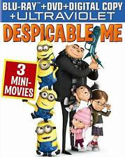 Despicable Me Blu-ray + DVD+Digital HD Free Shipping