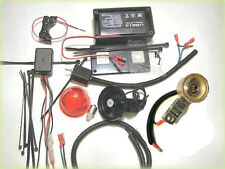 COMPLETE 6 Volt LED Lighting System For 2 Cycle Motorized Bicycles LED Headlight