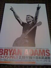 Bryan Adams / 2012 Tour flyer / Japan