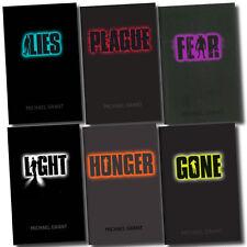 Gone Series Michael Grant Collection 6 Books Set Light Hunger Lies Plague Fear