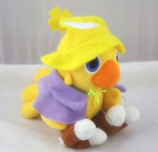 Black Mage Final Fantasy games doll 7in Plush chocobo ratite bird stuffed yellow