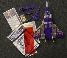 Transformers G1 Blitzwing 1985 Triple Changer Hasbro Takara