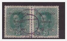 TRENTINO  ALTO ADIGE   1918 -    20   HELLER  COPPIA  USATA