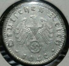 Germany Third Reich 1940-D 50 Pfennig . Scarce