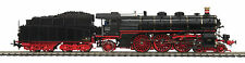 HO MTH Die-Cast Class 18.4 3 Rail AC Steam Engine w/DCC, Sound, Smoke 80-3218-5