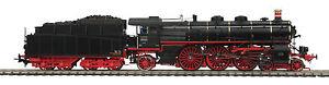 HO MTH Die-Cast Class 18.4 3 Rail AC Steam Engine w/DCC, Sound, Smoke 80-3218-5