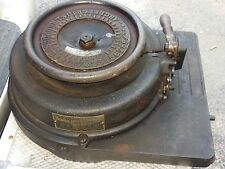VINTAGE BRADLEY STENCIL MACHINE made / from St. Louis MO, Patents dates 1893 -98