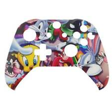 "Controlador de Xbox One S personalizada ""Looney Tunes"" Front Shell (Mate)"