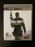 Call of Duty: Modern Warfare 3 (Sony PlayStation 3, 2011) FREE SHIPPING