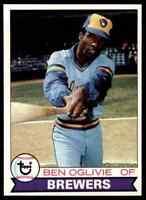 1979 Topps Set Break Mint Ben Oglivie #519