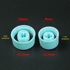 Car Air Conditioning Pipe A/C Service Port Valve Dust Cap Cover High/Low 1Pair