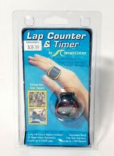 Sportcount Chrono 100 Lap Counter & Timer 1 hand operation Swimming Running