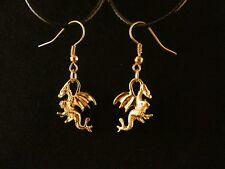 Ohrhänger Ohrringe Perlen-Tropfen 15x8 Silber 925 Edelsteinfarben Onyx Koralle