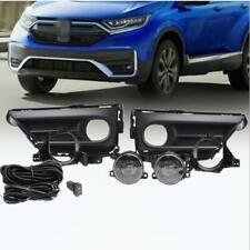 Front bumper lamp fog lamp Harness pair kit Fit For Honda CR-V CRV 2020-2021