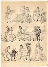 Transplantation-La Greffe-Chirurg-Medizin-Tusche-Zeichnung Karikatur 1870