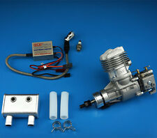 DLE Engine DLE20RA 20CC Gasoline with Electronic Igniton & Muffler Updated