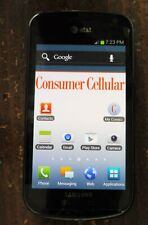 Samsung Galaxy Exhilarate SGH-I577  Consumer Cellular w/ Charger & manuals