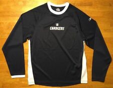 NFL Team Reebok Apparel San Diego Chargers Long Sleeve Shirt Size Large 14 / 16