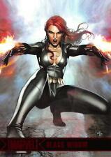 BLACK WIDOW / Marvel Greatest Heroes (2012) BASE Trading Card #09