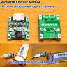 5V 1A Micro USB 1S 3.7V Li-ion 18650 Lithium Lipo Battery Charger Charging Board