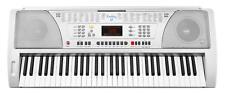 Funkey Kinder Spielzeug Keyboard mit 61 Tasten LCD Display Netzteil Notenhalter