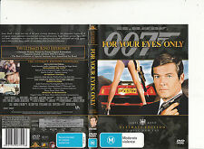 For Your Eyes Only-007-1981-Roger Moore-[2 Disc]-Movie-DVD