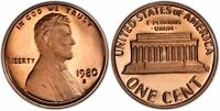 1980-S Proof Lincoln Cent Nice Coins Priced Right Shipped FREE