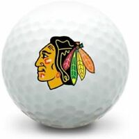 3 Dozen Titleist Pro V1x/ V1 Mint (Chicago Blackhawks NHL LOGO) Golf Balls