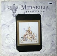 Mirabilia Seaside Kingdom Cross Stitch Pattern  #MD51 HTF OOP Nora Corbett New