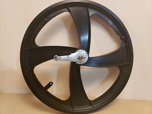"NOS Mid School BMX Sate-Lite 20"" Rear Wheel...Black...Coaster Brake...Rear Only"
