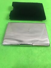 Sheridan Silver Plate Business Card Holder Case New With Tags