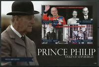 St Vincent & Grenadines Royalty Stamps 2011 MNH Prince Philip 90th Queen 4v M/S