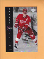 1995 96 UPPER DECK FREEZE FRAME # F8 SERGEI FEDOROV DETROIT RED WINGS *FREE SHIP