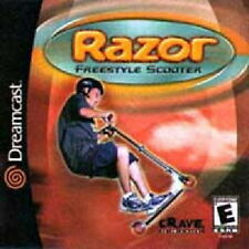 RAZOR FREESTYLE SCOOTER SEGA DREAMCAST GAME *NEW* AUS EXPRESS