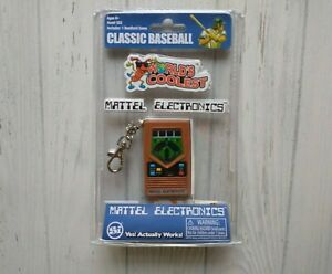 Mattel Electronics Baseball Handheld Pocket Travel Portable Keychain Game 2016