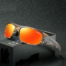 Mens Sunglasses Polycarbonate Lenses Polarized Night Vision Mirror Eyewear Shade
