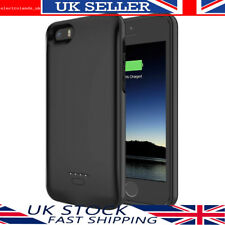 Battery Charger Case for iPhone 5S 5 SE 4000mAh External Power Bank Pack Cover