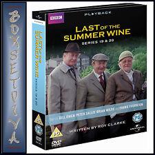 LAST OF THE SUMMER WINE  - SERIES 19 & 20 ***BRAND NEW DVD***