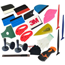Pro Vinyl Car Wrap Decals Application Tools Micro Squeegee Cutter Magnets USA
