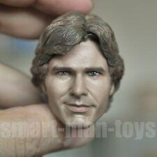 1/6 scale Star Wars Han Solo Harrison Ford Head Sculpt fit 12'' Figure Body