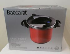 Baccarat Quality S/Steel 22cm 7L Pressure Cooker (RRP $269.99) Induction Safe