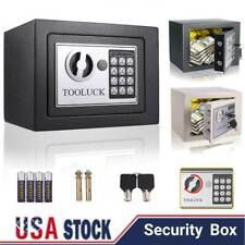 Electronic Digital Safe Box Keypad Lock Security Home Office Cash Jewelry Gun US