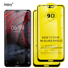 9D Full Cover Tempered Glass Film Screen Protector For Nokia 7.1 8.1 Plus 2 3 5
