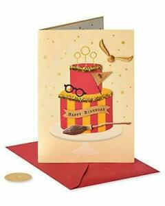 Gorgeous PAPYRUS Greeting Card  Harry Potter Birthday Card (Cake)