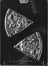 K086 Pizza Slice Chocolate Candy Soap Mold with Instructions