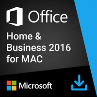 Microsoft Office 2016 Home and Business for Mac |100% Genuine| Digital Download