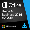 Microsoft Office 2016 Home and Business for Mac |100% Genuine| Fast Delivery